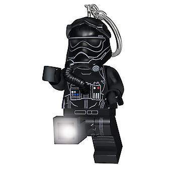 LEGO Star Wars Episode VIII första order tie fighter pilot Keylight
