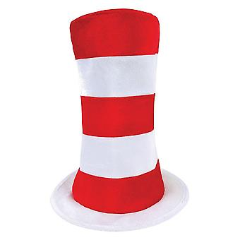 Bristol Novelty Unisex Adults Striped Top Hat