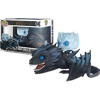 Game of Thrones Night King on Dragon Pop! Ride