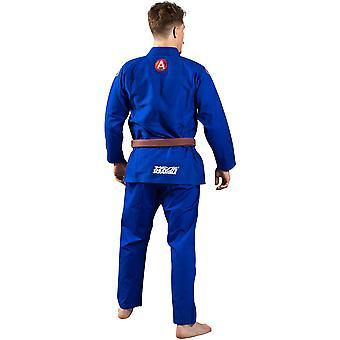 Scramble atlet 4 midweight 450gsm Brasiliansk Jiu-Jitsu GI-blå