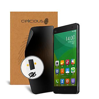 Celicious Privacy 2-Wege Anti-Spy Filter Screen Protector Film kompatibel mit Xiaomi Mi 1