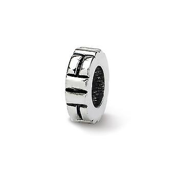 925 Reflexos de Prata Esterlina Entalhado Espaçador Colar de Joias Colar joias para mulheres