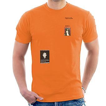 A. P. O. H Munch frygt for fotografering citat mænd ' s T-shirt