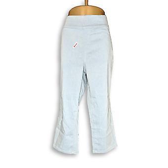 Denim & co. kvinner ' s Plus Pants 18 Indigo myk stretch glatt blå A349147