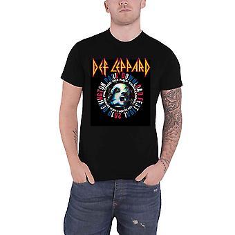 Def Leppard T Shirt Download Festival 2019 Band Logo new Official Mens Black