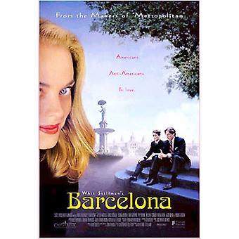 Poster original do cinema de Barcelona (único tomado o partido)