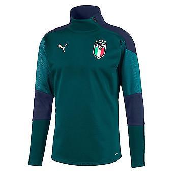 2019-2020 Italia Puma koulutus fleece (mänty)