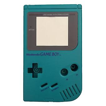 Replacement housing shell case repair kit for nintendo game boy dmg-01 - teal green