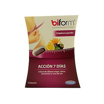 Dietisa Biform Accion 7 päivää 14 kapselia