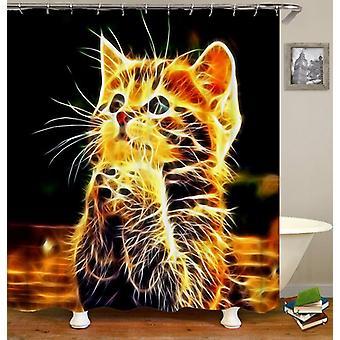 Elektrische kat douche gordijn