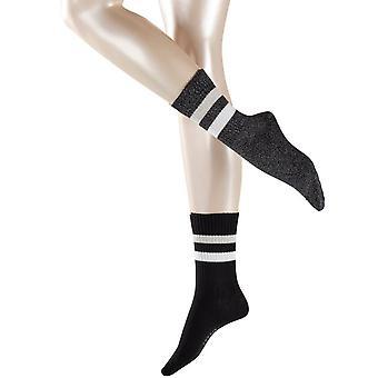 Esprit tennis stripe 2-pakning sokker-svart