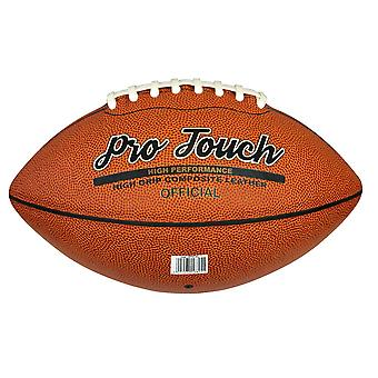 Midwest Pro Touch Composite Leather American Football Ball Tan Official Size