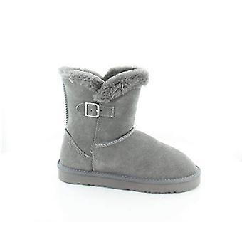 Estilo e Co. Tiny Bootie Women's Boots Dark Grey Size 9 M