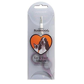 Rosewood Soft Protection Salon Grooming Ear/ Face Scissors