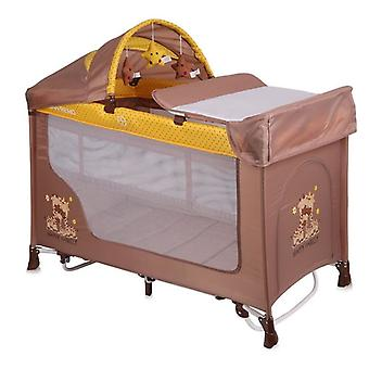 Lorelli Baby Travel Bed Running Stable REMO 2, Swing Function, Mattress, Carrying Bag