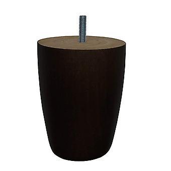 Svart tre runde møbler etappe 12 cm (M8)