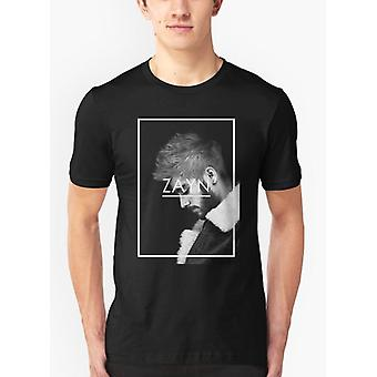 Zayn malik black malange t-shirt