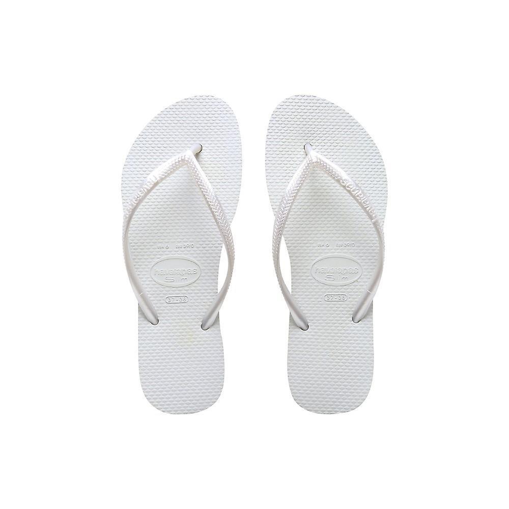 Havaianas Slim White 40000300001 woda letnie buty damskie