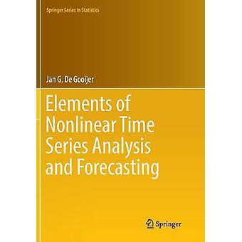 ヤン・G・デ・グオイジャーによる非線形時系列分析と予測の要素