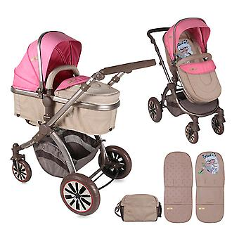 Lorelli Combi Stroller Aurora 2 in 1 Foldable Adjustable Foot Cover Bag