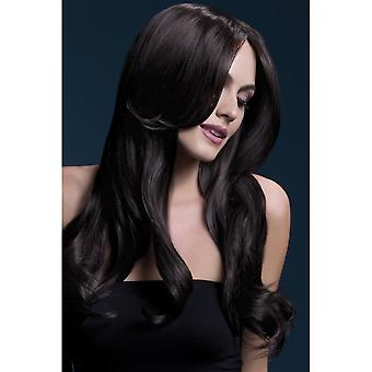 Smiffy's Fever Khloe Wig - Brown