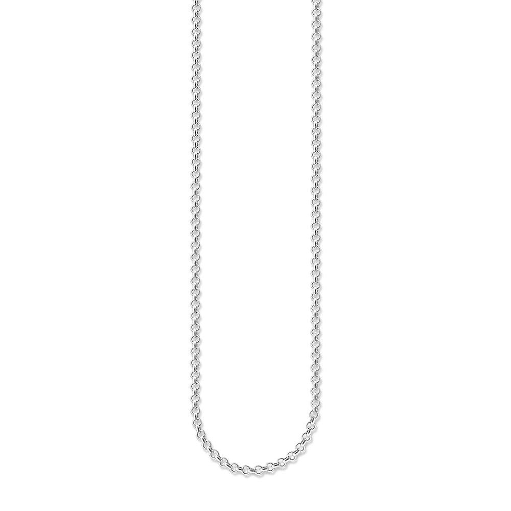 Thomas Sabo Silver Charm Carrier Chain Necklace X0001-001-12