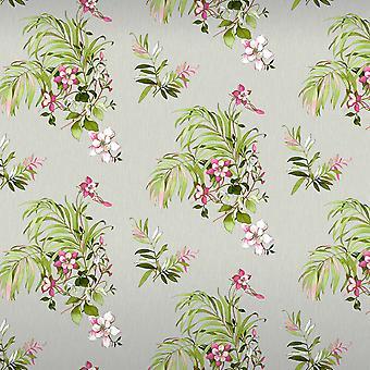 Botanique Floral Glitter Wallpaper Grijs Belgravia 3421