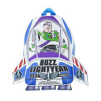 Zaino Disney Toy Story per bambini | Buzz Lightyear Novità 3D Space Ranger Rocket Bag | Ragazzi Ragazze Film Merchandise Una Taglia