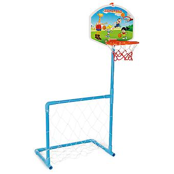 Pilsan Magic Basketball & Football Goal Set