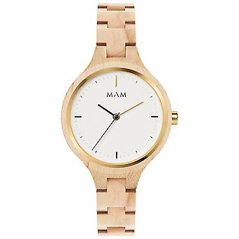 Mam Original Japanese Quartz Analog Woman Watch with Bracelet from Other SILT 607