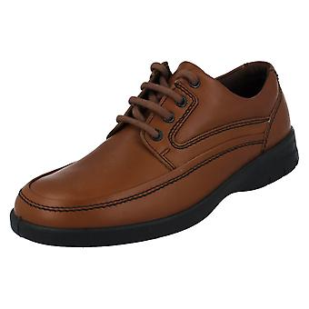Mens Padders Casual Lace Up Shoe Fire