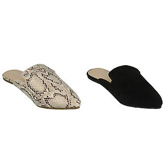 Anne Michelle Womens/Ladies Closed Toe Mules
