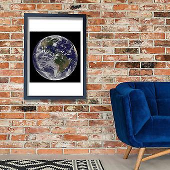 NASA - Hurricane Irene Poster Print Giclee