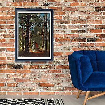 Winslow Homer - Waverly Oaks Poster Print Giclee