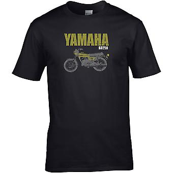 Yamaha RD250 Classic - Motorsykkel Motorsykkel Biker - DTG trykt T-skjorte