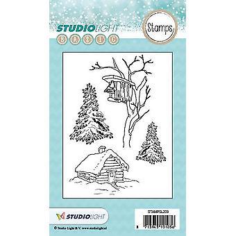 Studio Light A6 Clear Stamp - Number 209 Stampsl209