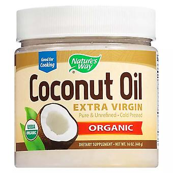 Nature's way organic coconut oil, extra virgin, 16 oz