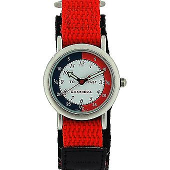 Cannibal Active Analogue Time Teacher Children Easy Fasten Strap Watch CT003-06