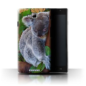 STUFF4 Case/Cover für LG Optimus L9 II/D605/Koala Bear/Wildlife Tiere