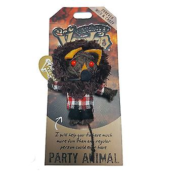 Watchover Voodoo Dolls Party Animal Voodoo Keyring