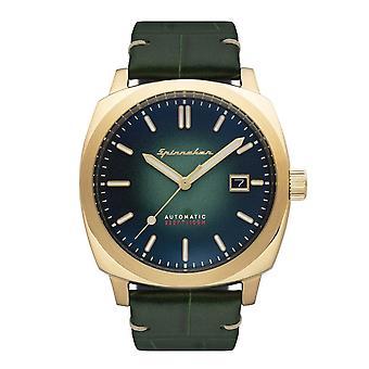 Spinnaker SP-5072-03 Gent's Hull Green Dial Wristwatch