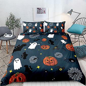 Halloween gedruckt Bettwäsche Set