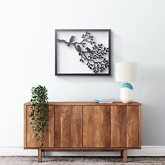 Metal Wall Art - Branch with Birds
