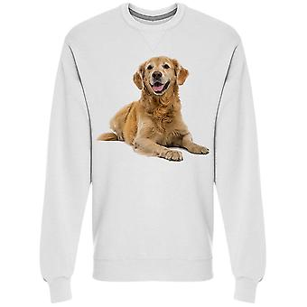 Doggy Looking At Camera Sweatshirt Men's -Image by Shutterstock