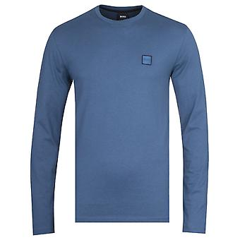 BOSS Tacks Navy Long Sleeve T-Shirt