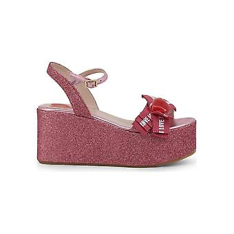Love Moschino - Shoes - Wedge Pumps - JA16188I07JH_260A - Ladies - Pink - 35