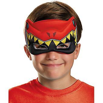 Maske For røde Ranger Dino oppustede