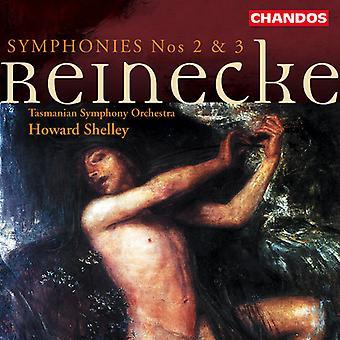 C. Reinecke - Reinecke: Importación sinfonías nos. 2 & 3 [CD] Estados Unidos