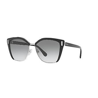 Prada SPR56T 1AB/0A7 Black-Silver/Grey Gradient Sunglasses