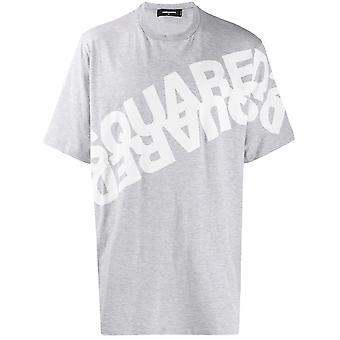 Mirror Logo Print T-Shirt